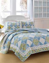 Laura Ashley Grace Diamond Patchwork Quilt