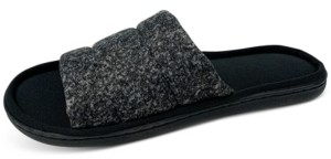 Gold Toe Men's Quilted Slide Slippers