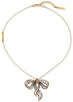Marc Jacobs Bow Necklace