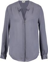 L'Agence Bianca silk-chiffon blouse