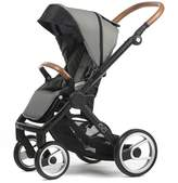 Mutsy Evo Urban Nomad Light Grey with Black Chassis Child Stroller