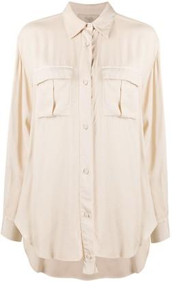Maison Flaneur Oversized Button-Up Shirt