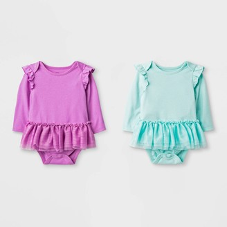 Cat & Jack Baby Girls' 2pc Tutu Bodysuit - Cat & JackTM