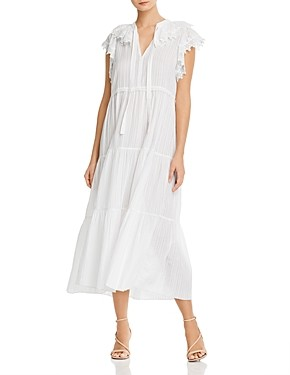 See by Chloe Cotton Voile Midi Dress
