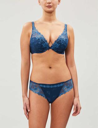Simone Perele Wish triangle mesh push-up bra