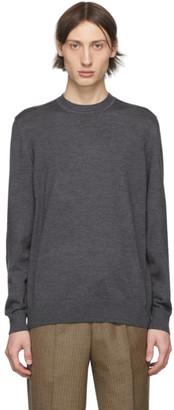 Ermenegildo Zegna Cobra S.C. Grey Wool Baruffa Sweatshirt
