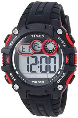 Timex Men's TW5M27000 DGTL Big Digit 48mm Silicone Strap Watch