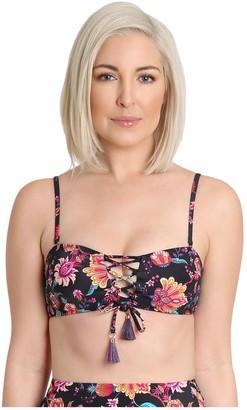 Nanette By Nanette Lepore Nanette Lepore Crisscross Bow Bandeau Bikini Top - Brielle