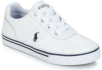 Polo Ralph Lauren HANFORD girls's Shoes (Trainers) in White