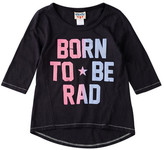 Junk Food Clothing Born To Be Rad Tee (Little Girls & Big Girls)