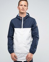 Element Alder Two Tones Hooded Rain Jacket
