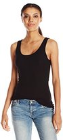 Michael Stars Women's 2x1 Rib Scoop Neck Tank