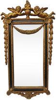 One Kings Lane Vintage French Cherub & Garland Mirror