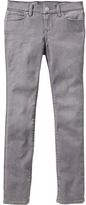 Old Navy Gray-Wash Super Skinny Jeans for Girls