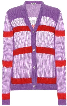 Miu Miu Mohair and wool-blend cardigan