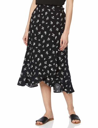 New Look Women's Sable Ditsy Skirt