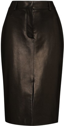 Tom Ford Front-Slit Pencil Skirt