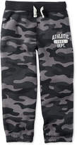 Carter's Athletic Graphic-Print Camo Sweatpants, Toddler Boys (2T-5T)