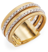 Marco Bicego 18K Yellow Gold 0.26 TCW Diamond Goa Ring