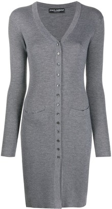 Dolce & Gabbana Long Fitted Cardigan