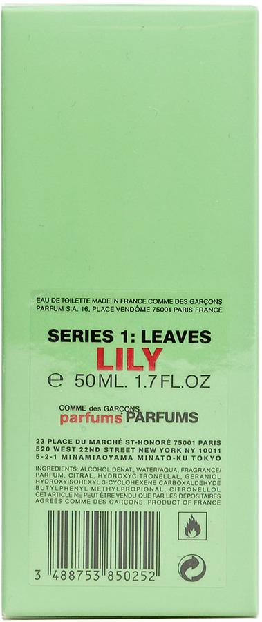 Comme des Garcons Unisex Series 1 Leaves: Lily Eau de Toilette
