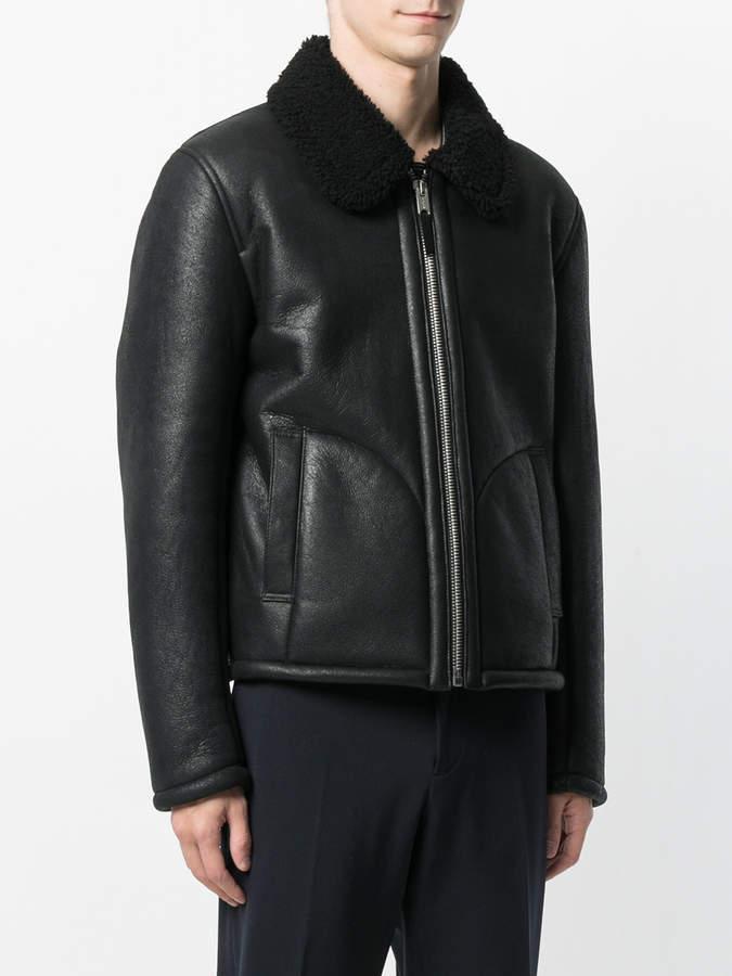 YMC shearling lined jacket