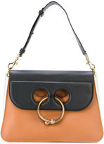 J.W.Anderson piercing applique tote bag - women - Calf Leather - One Size