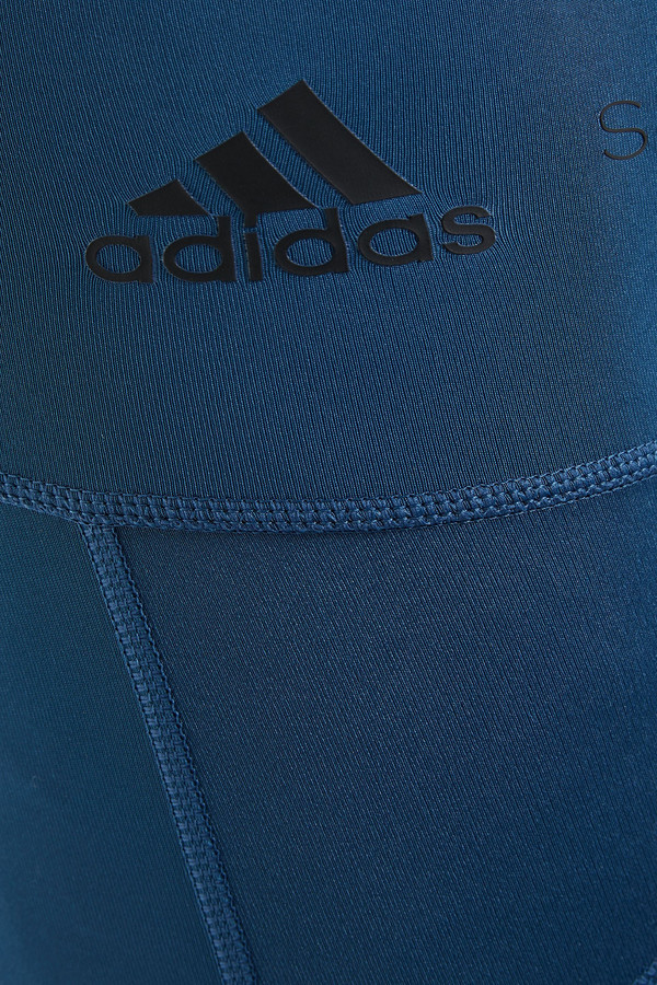 Thumbnail for your product : adidas by Stella McCartney Train Bt Mesh-paneled Stretch Leggings