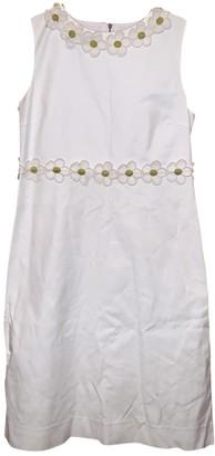 Red Valentino Garavani White Linen Dresses