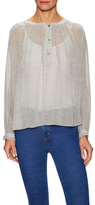 MiH Jeans Oldfield Silk Blouse