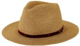 San Diego Hat Company Men's Mixed Paperbraid Fedora SDH3018