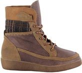 Coolway Brown & Black Brody Leather Boot