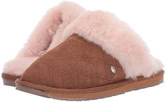 Emu Jolie Quilt (Toddler/Little Kid/Big Kid) (Chestnut) Kids Shoes