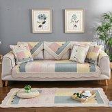 JIN Sofa mats Sofa cushions,fabric simple fashion cushion, anti-sliing