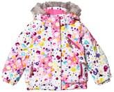 Spyder Multi Coloured Bitsy Lola Ski Jacket