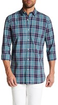 Joe Fresh Pacific Plaid Long Sleeve Standard Fit Shirt