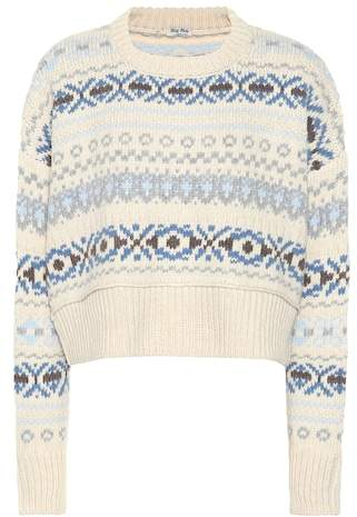 Fair Isle wool sweater