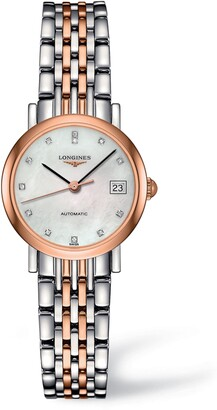 Longines Elegant Automatic Diamond Bracelet Watch, 25.5mm