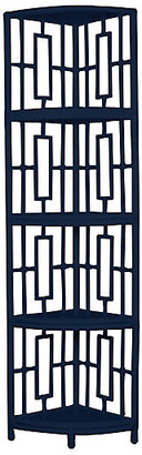 David Francis Furniture Tinley Etagere - Navy
