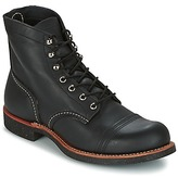 "Red Wing Shoes 6"" IRON RANGER Black"