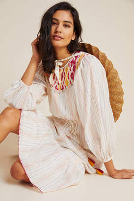 Saylor Nyc Dacey Embroidered Cover-Up Dress