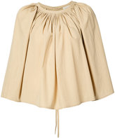 Lemaire pleated blouse - women - Cotton - 34