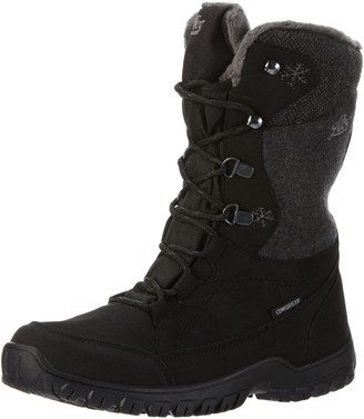 Lico Women's Maike Snow Boots Grey Anthrazit/Orange 6.5 UK
