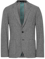 Paul Smith Grey Soho Slim-fit Wool-blend Blazer - Gray