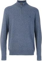 Polo Ralph Lauren zipped collar sweater