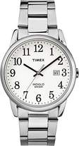 Timex Mens Easy Reader White Dial with a Stainless Steel Bracelet Watch TW2R23300