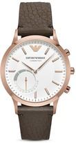 Emporio Armani Tech Hybrid Smart Watch, 43mm