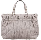 Christian Dior Delices Gaufre Cannage Satchel