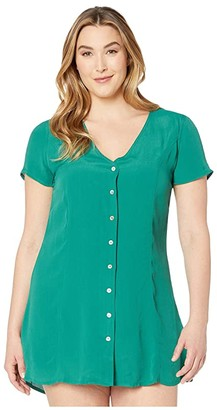 RVCA Guilt Dress (Evergreen) Women's Dress