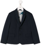 Paul Smith fitted cotton blazer